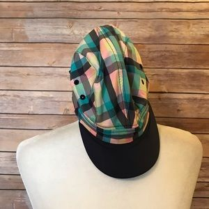 Lululemon plaid baseball cap